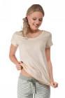Skiny - Sleep & Dream 81894 női rövid ujjú pizsama póló