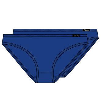 4852b2c929 skiny essentials girls girls bikini brief bugyi 2 darabos Fekete,Fehér